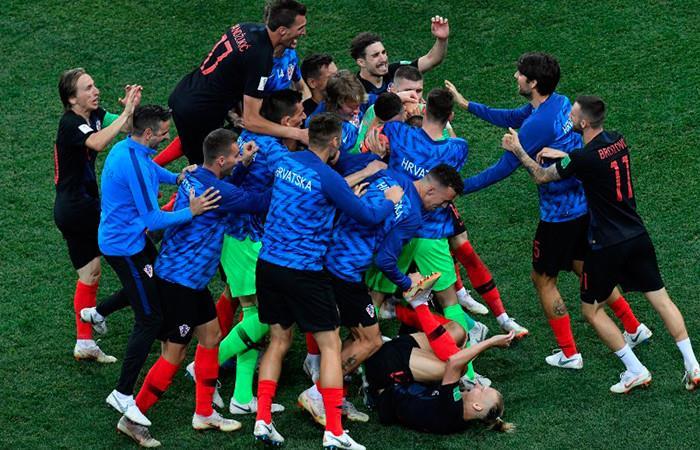 Croacia derrota a Dinamarca por definición de penales