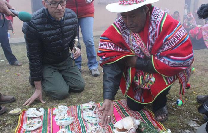 Así es la tradición boliviana. Foto: EFE