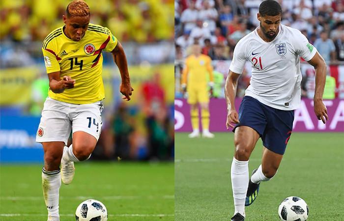 Colombia vs. Inglaterra Foto: AFP