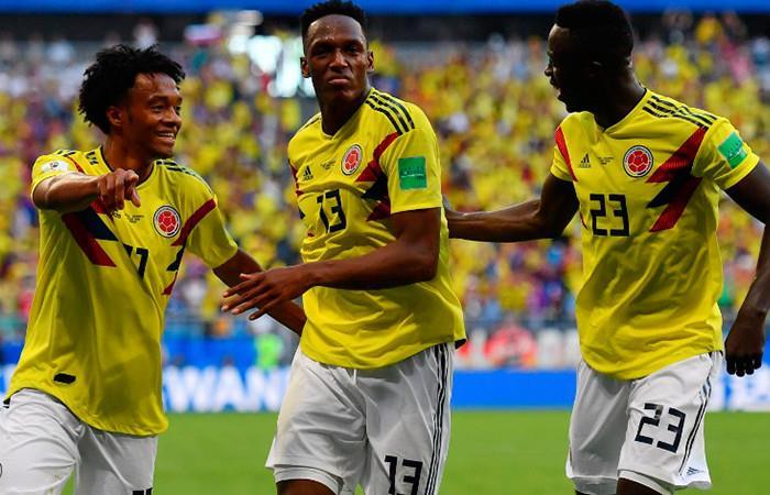 Posible alineación de Colombia Foto: AFP