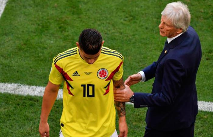 Pékerman confía en poder contar con James Rodríguez