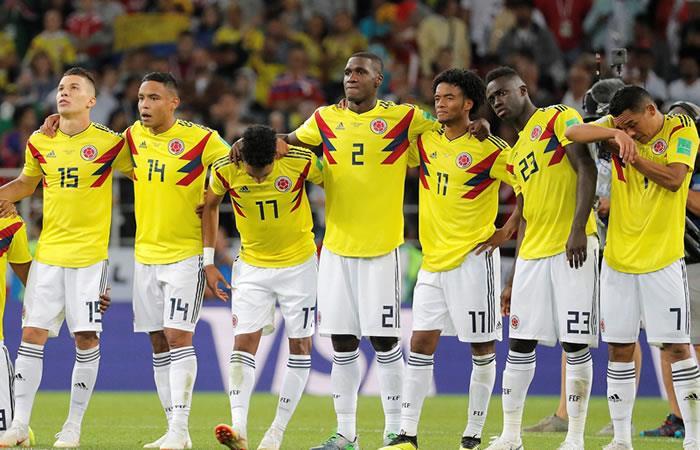 Colombia perdió ante Inglaterra y quedó eliminada del Mundial