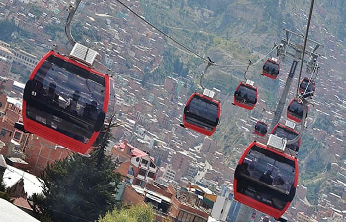 Mi Teleférico llegará al centro. Foto: ABI