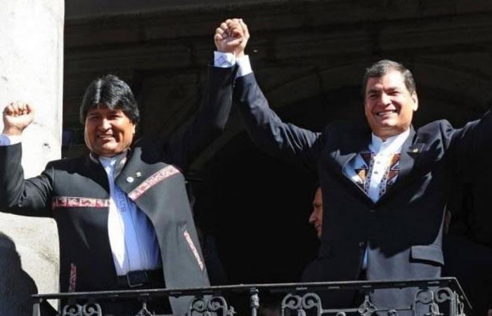 Ecuador protesta contra Bolivia y Venezuela. Foto: AFP