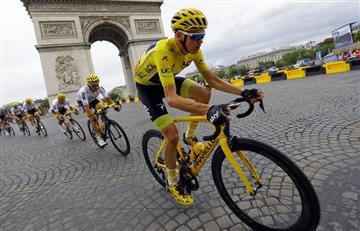 UCI pide respetar la seguridad de Chris Froome