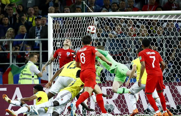 Selección Colombia vs Inglaterra. Foto: AFP