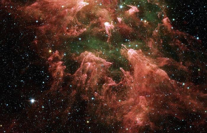 Sistema estelar Eta Carinae está disparando rayos de alta energía hacia la Tierra