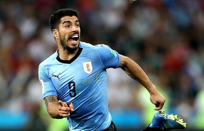 Uruguay y Francia se miden en los cuartos de final de la Copa Mundo de Rusia 2018. Foto: EFE