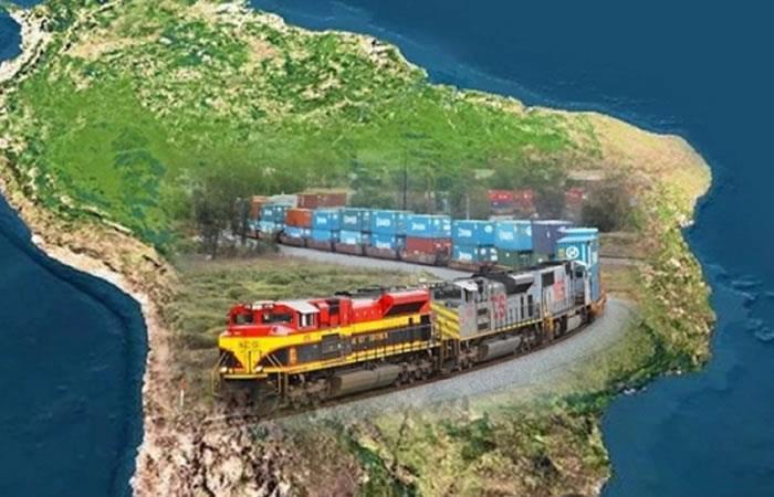 Bolivia y Brasil se reúnen por Tren Bioceánico. Foto: ABI