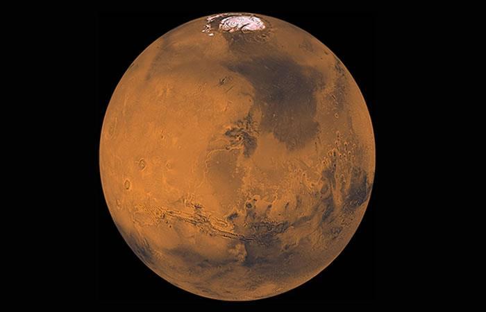 Video: Así se ve la enorme tormenta de polvo que cubrió a Marte
