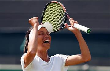 Halep eliminada y deja Wimbledon con una sola 'top 10'
