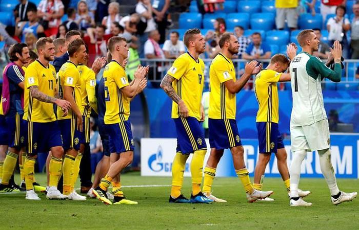 Foto: EFE Suecia no pudo con Inglaterra.