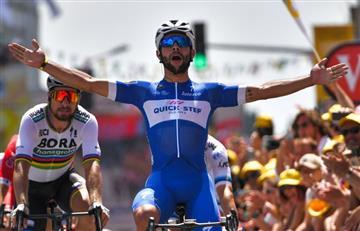 Tour de Francia: ¡Fernando Gaviria gana la etapa 1 en su debut!