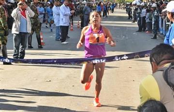 Cochabambinos ganan carrera 10K
