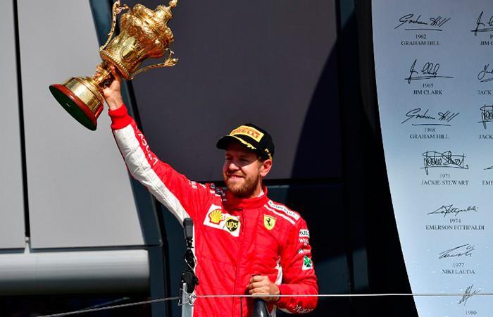Sebastian Vettel gana el GP de Gran Bretaña