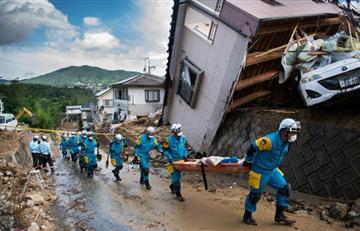 Japón: Las inundaciones han provocado gran cantidad de desaparecidos