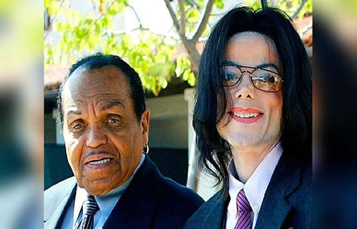 Michael Jackson y su padre, Joe Jackson. Foto: Instagram.
