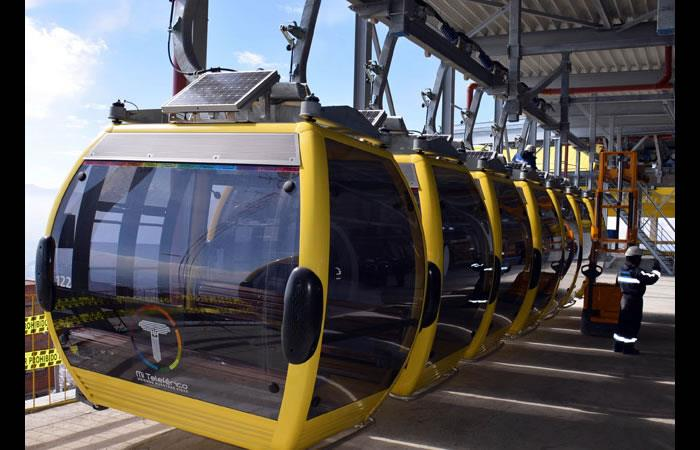 ¡Récord! Mi teleférico supera los 16 kilómetros de recorrido en La Paz
