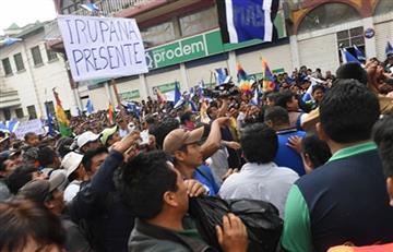 Yungas reafirman respaldo a Morales y al proceso de cambio