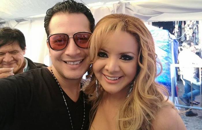 Wally Zeballos y Giovanna Chave. Foto: Facebook