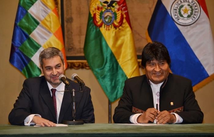 Bolivia y Paraguay mantienen un acuerdo en común. Foto: ABI