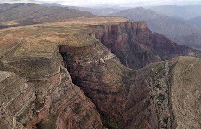 Parque Nacional Torotoro en Bolivia. Foto: Pixabay
