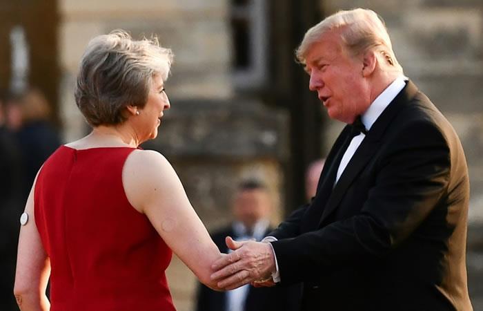En la visita de Trump al Reino Unido abundan los exabruptos y ofensas