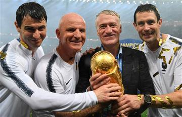 """Deschamps: """"Quizás perder la Eurocopa nos ha hecho campeones del mundo"""""""