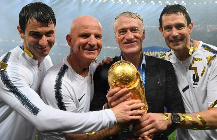Deschamps: 'Quizás perder la Eurocopa nos ha hecho campeones del mundo'