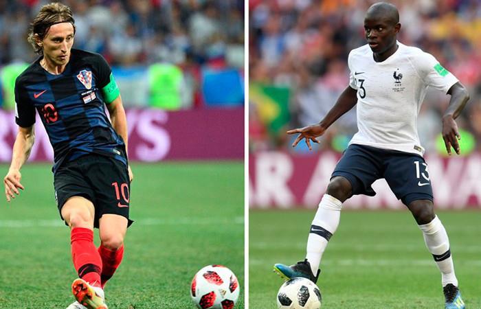 Francia vs. Croacia: Transmisión EN VIVO online de la gran final