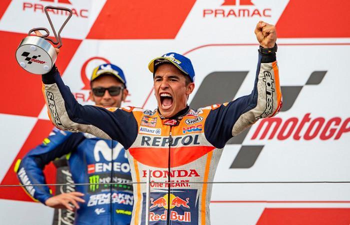 Marc Márquez gana el GP de Alemania