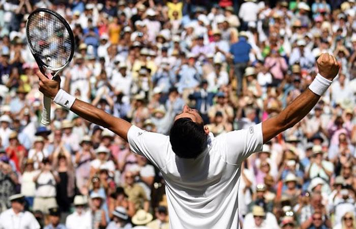 Novak Djokovic gana Wimbledon por cuarta vez