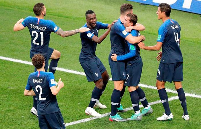 Francia campeón del mundo Foto: EFE