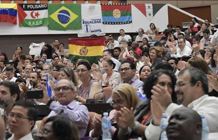 Foro de Sao Paulo respalda la demanda marítima de Bolivia