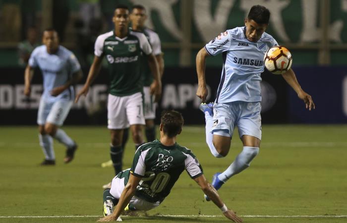 Copa Sudamericana: Bolívar es goleado por Deportivo Cali