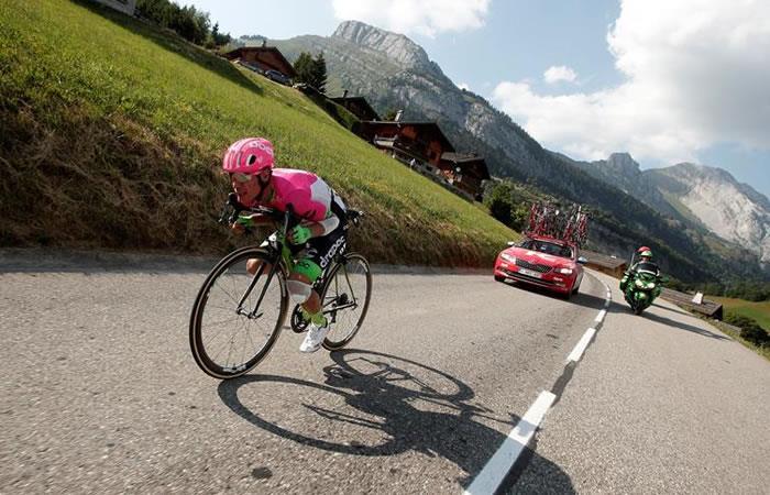Tour de Francia: Así fue la primera etapa de montaña