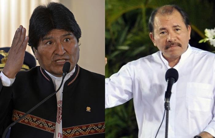 Evo Morales condenó los hechos en Nicaragua y defiende a Ortega así