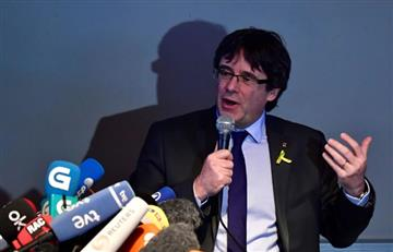 Orden internacional de arresto contra Puigdemont fue retirada por España