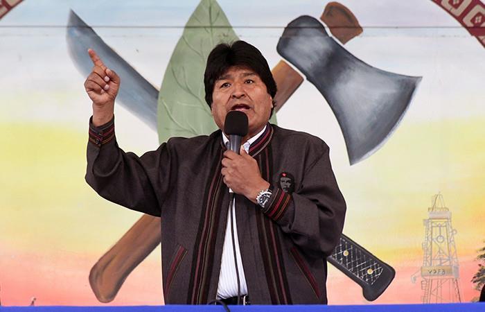 Evo Morales  Foto: ABI