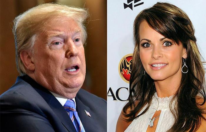 Trump calificó como 'quizás ilegal' grabación sobre pago a exmodelo de Playboy