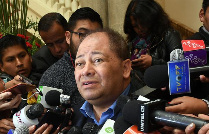 Ministro de Gobierno, Carlos Romero. Foto: ABI