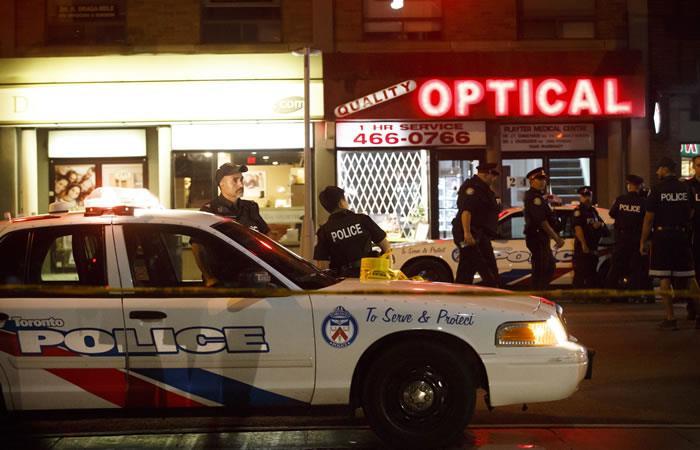 Canadá: Tiroteo en Toronto deja dos personas muertas y trece heridos