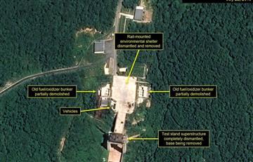 Corea del Norte: Pyongyang desmantela base de lanzamiento de satélites