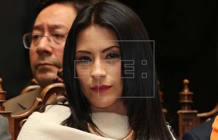 Ministra boliviana de Cultura, Wilma Alanoca. Foto: EFE