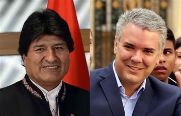 Evo Morales asistirá a posesión del nuevo presidente de Colombia