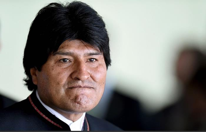 Evo Morales corre el riesgo de ser derrotado. Foto: AFP