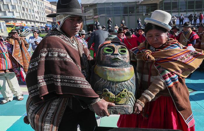 Bolivia inicia agosto con rituales de gratitud a la Madre Tierra