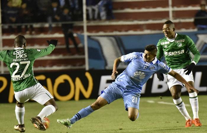 Bolívar se despidió de la Sudamericana tras perder ante Cali