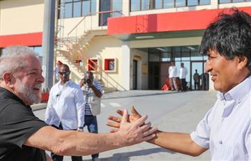 Morales saluda que Lula quiera ser candidato en Brasil