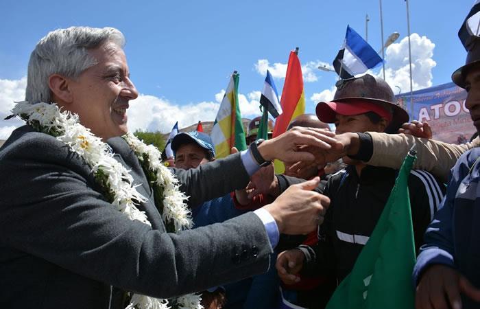Pidió respetar a la población de Potosí. Foto: ABI